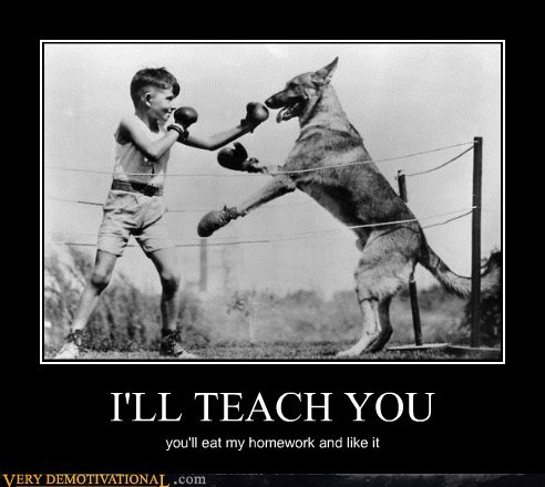 I'LL TEACH YOU