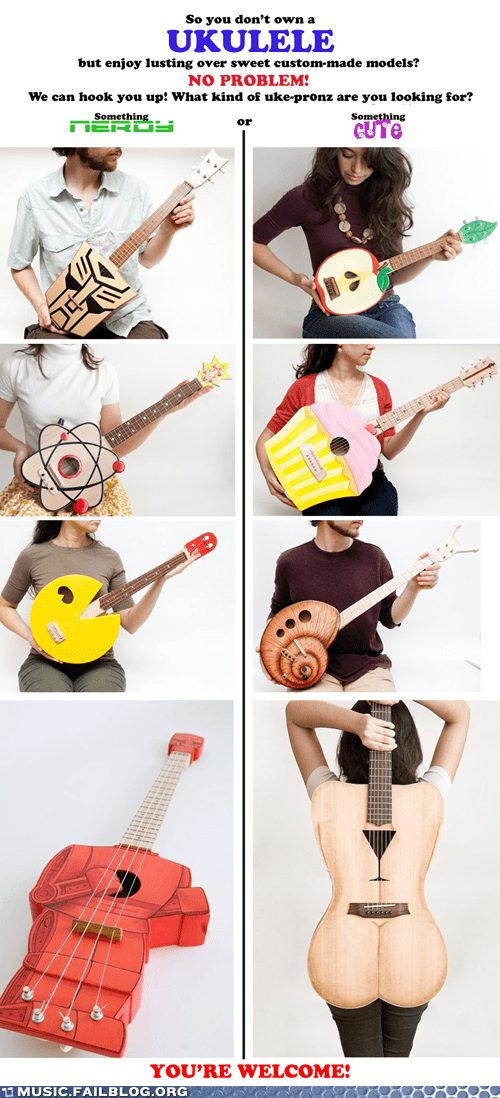 Music FAILS: Happy Play Your Ukulele Day!
