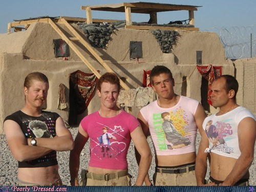 Quick, The Troops Need More Shirts With the J-Beebs!