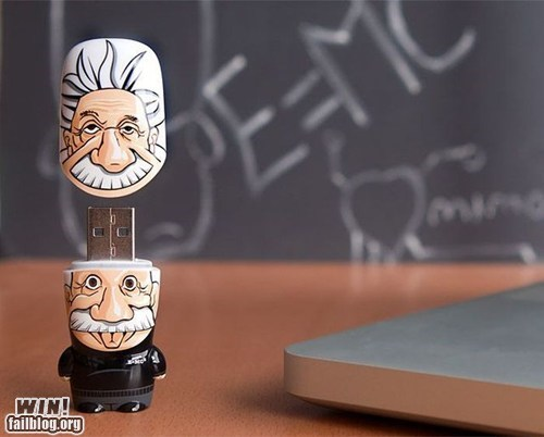 einstein,office swag,science,thumb drive,USB,usb drive