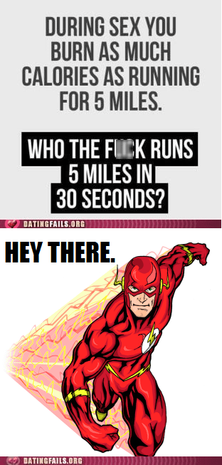 The Flash Takes Issue