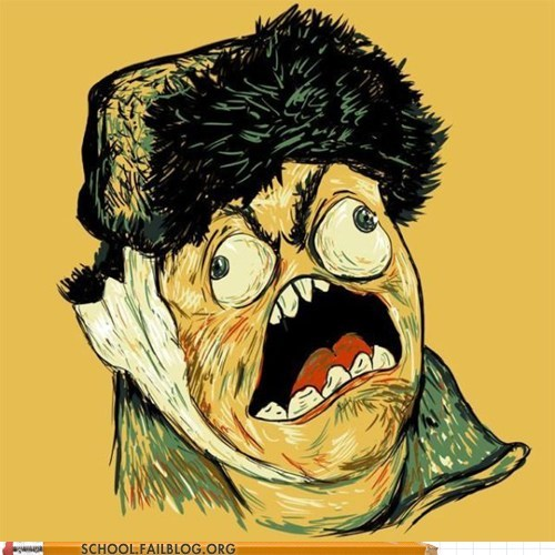 art history 318,rage faces,Van Gogh
