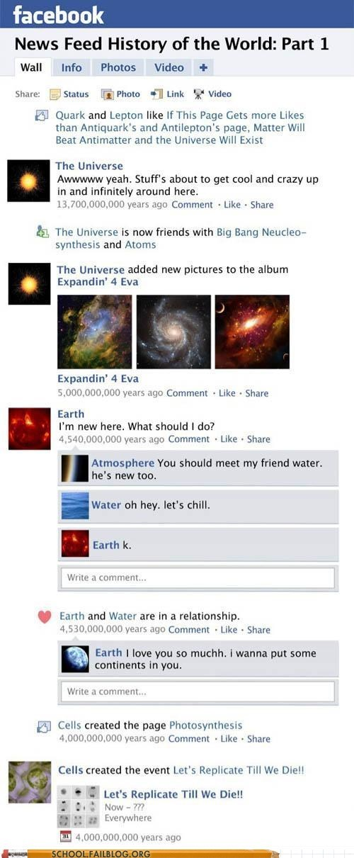 Science 301: In the Beginning There Was Facebook...