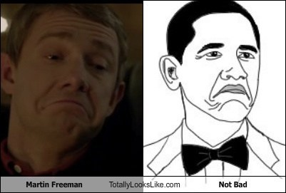Martin Freeman Totally Looks Like Not Bad