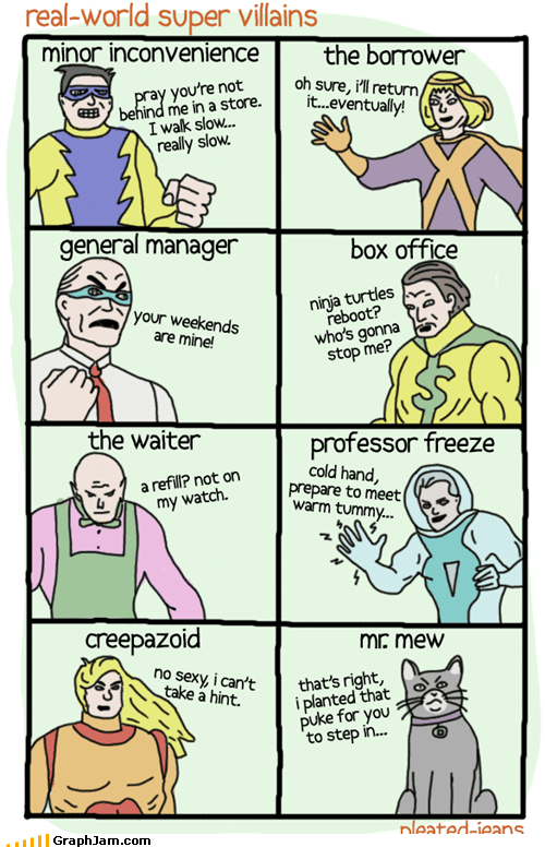 Real World Super Villains