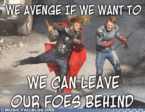 Avengers Without Hats