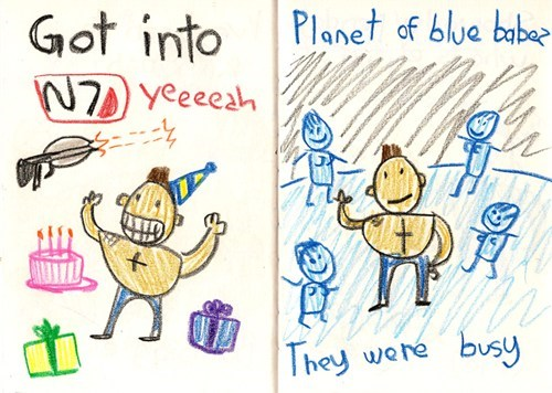Mass Effect Comic of the Day