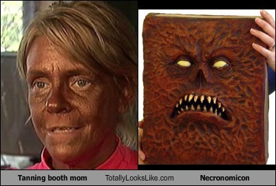 Patricia Krentcil Totally Looks Like Necronomicon