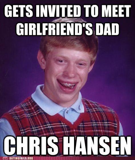 bad luck brian,Chris Hansen,to catch a predator