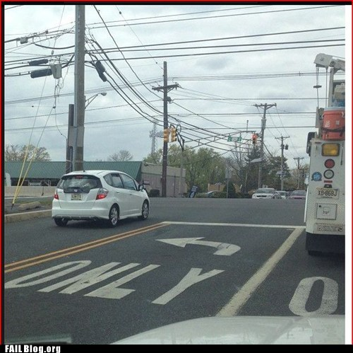 Driving: You're Doing It Wrong FAIL