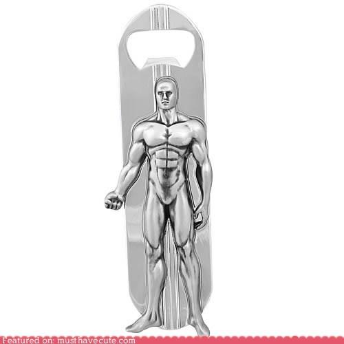 bottle opener,comic book,silver surfer,surfboard