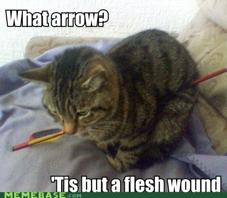 What arrow?