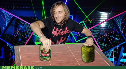 David Guetta Opens Pickle Jars