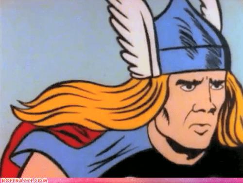 funny,nicolas cage,Thor