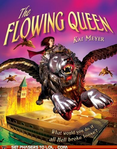 WTF Sci-Fi Book Covers: The Flowing Queen