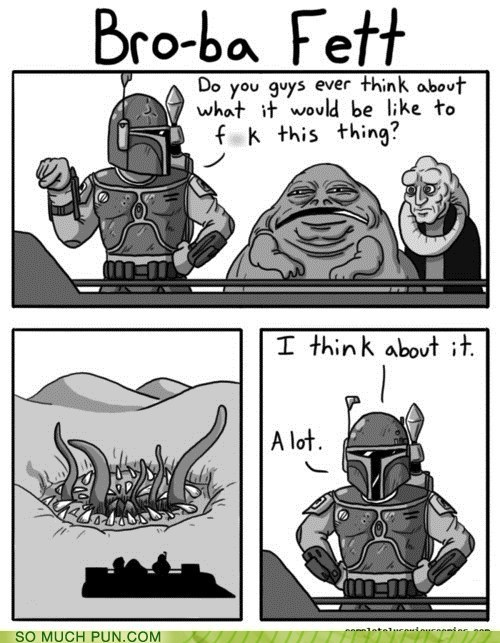 SMP CLASSIC: His Taste in Potential Hookups is Severely Sarlacc-ing