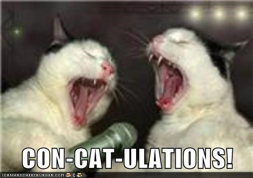 CON-CAT-ULATIONS!
