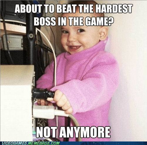 Parent Gamer Problems
