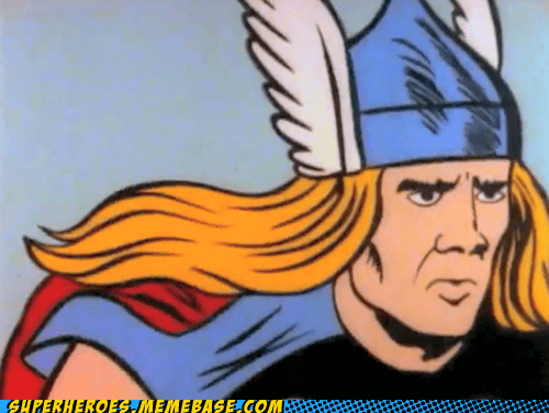 Nick Cage as Thor