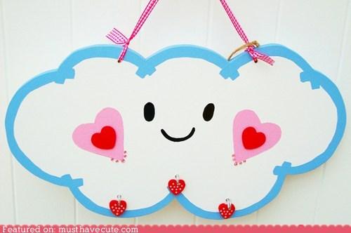 Cloud Love Wall Hanging