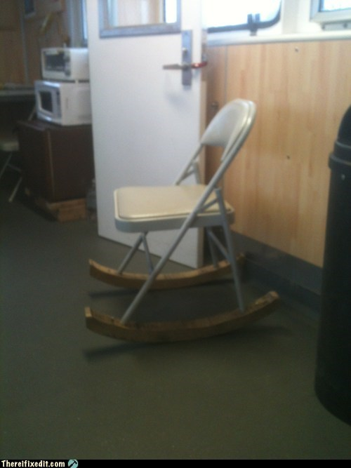 Rock Out With Your Fold-Up Chair Out