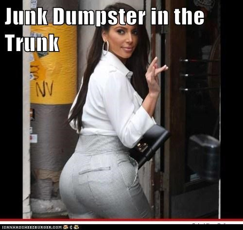 Junk Dumpster in the Trunk