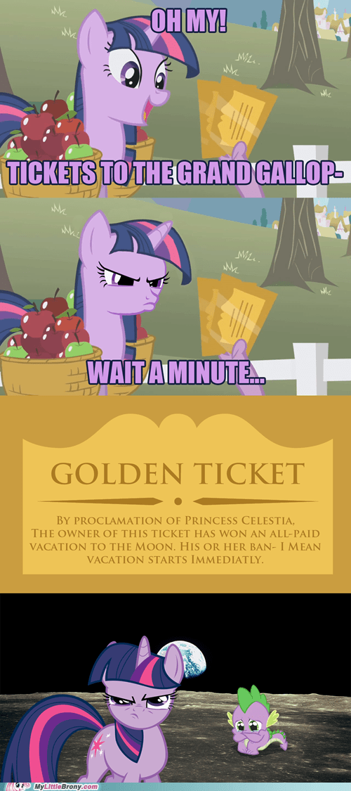 The golden tickets