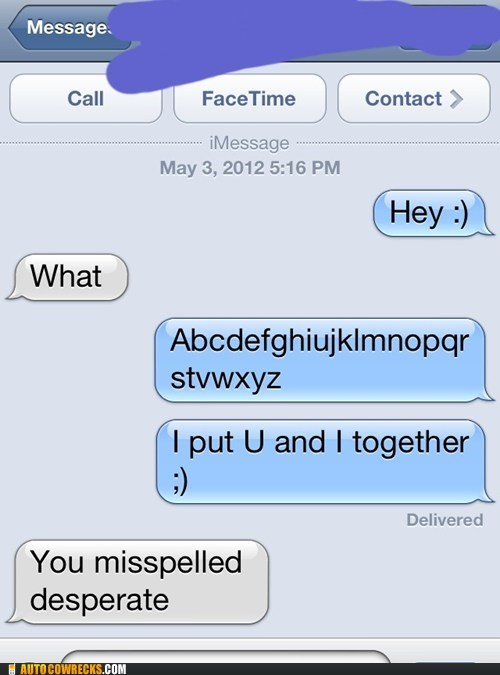 Autocowrecks: Damn, Autocorrect Must Have Gotten a Hold of That One