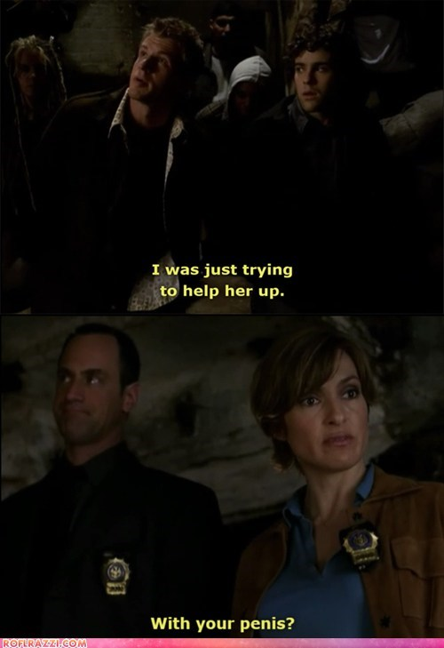 """Law & Order: SVU"" Dialogue is Serious Business"