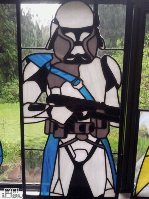 Clone Trooper Glass WIN