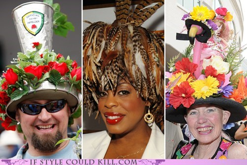 20 Insanely Elaborate Kentucky Derby Hats