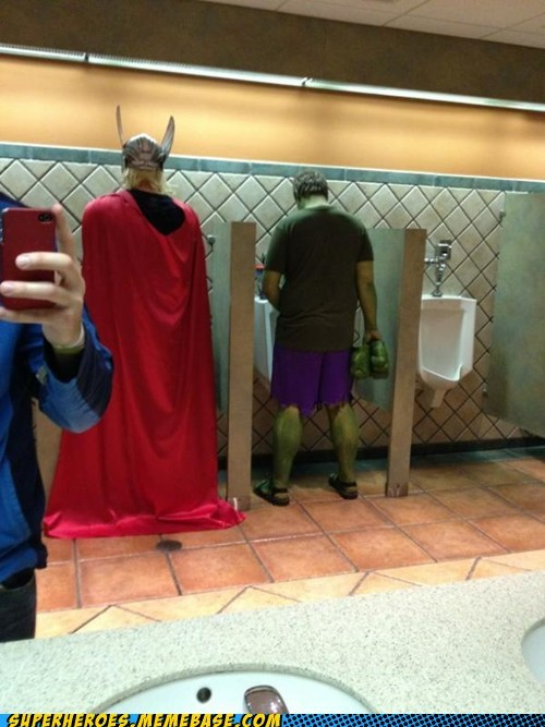 Those Are Some Strong Urinals