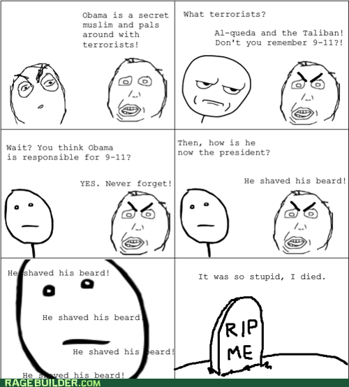 Rage Comics: Got a Nice Tan, Too