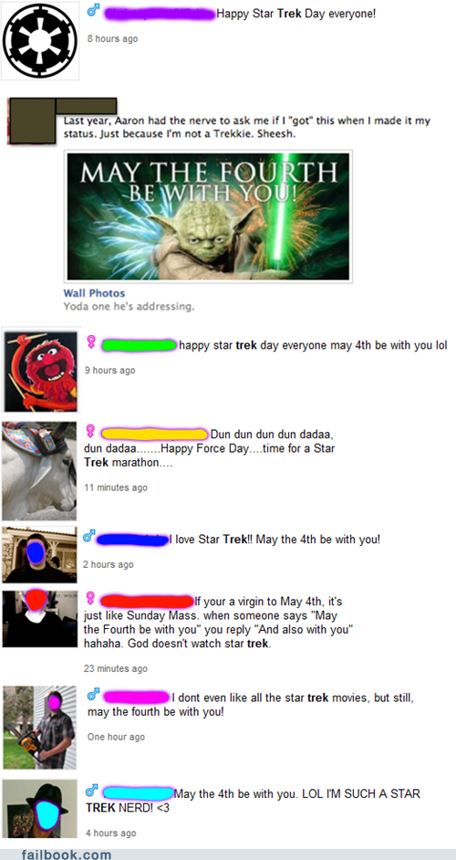 Eight People Who Don't Know the Difference Between Star Trek and Star Wars