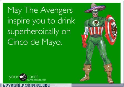 Black Widow,captain america,captain mexico,cinco de mayo,hawkeye,hulk,iron man,Nick Fury,The Avengers,Thor