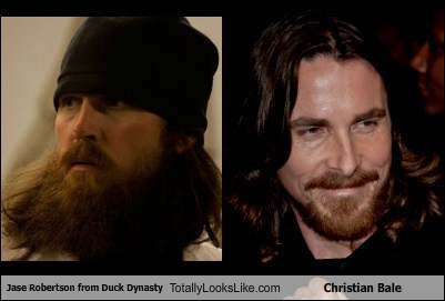 Jase Robertson from Duck Dynasty Totally Looks Like Christian Bale