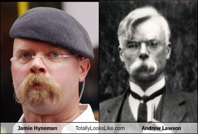 Jamie Hyneman Totally Looks Like Andrew Lawson