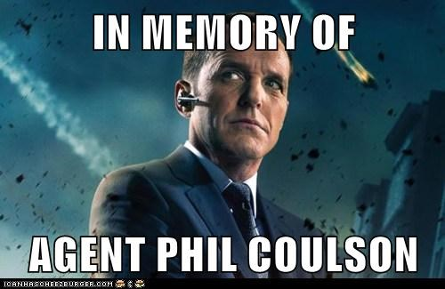 IN MEMORY OF  AGENT PHIL COULSON