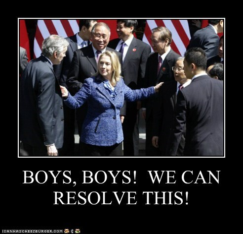 BOYS, BOYS!  WE CAN RESOLVE THIS!