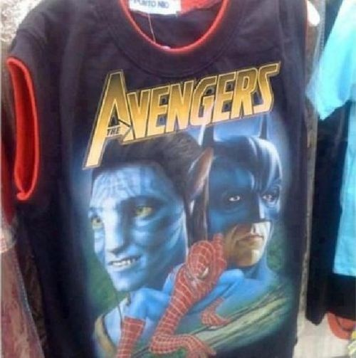 Avengers Beat Up Harry Potter of the Day