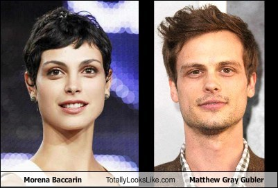 Morena Baccarin Totally Looks Like Matthew Gray Gubler