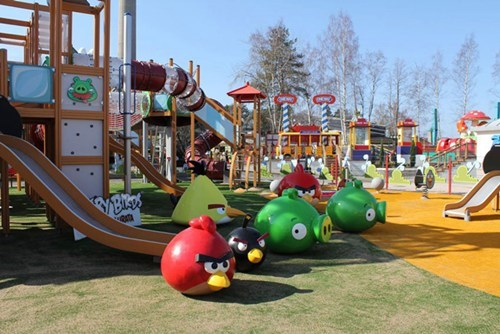 Angry Birds Theme Park of the Day