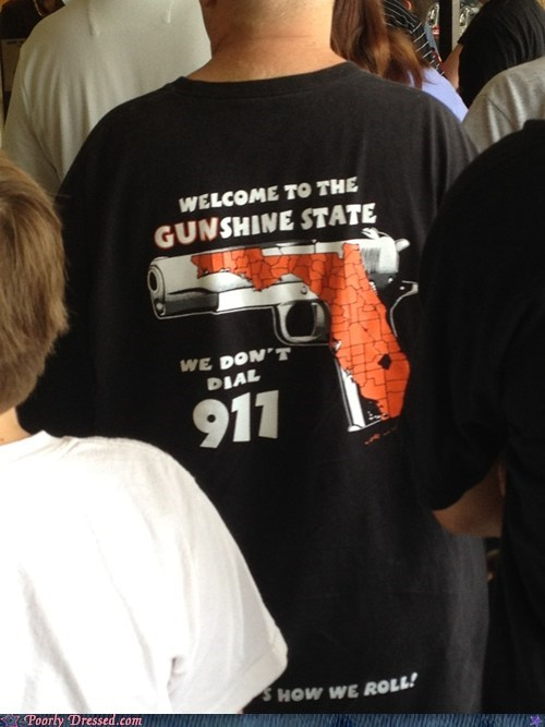 florida,guns,scary,shirt,shoot first