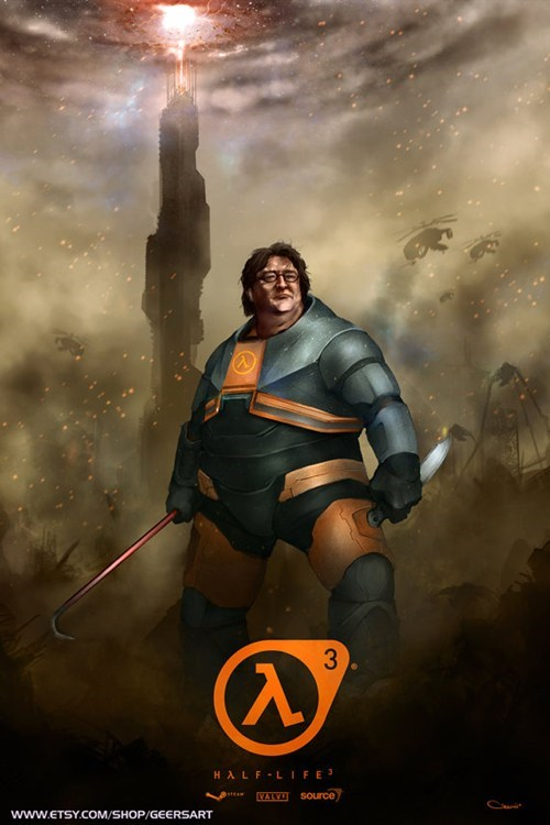 Gabe Newell Fan Art of the Day