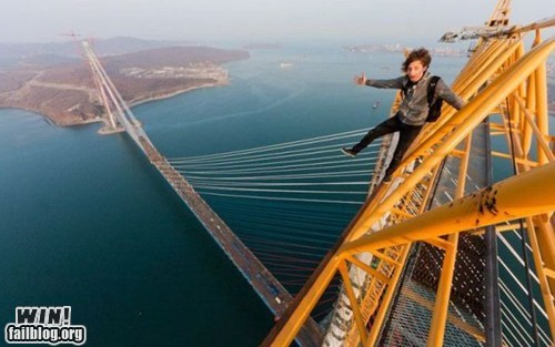 Climbing a Bridge WIN
