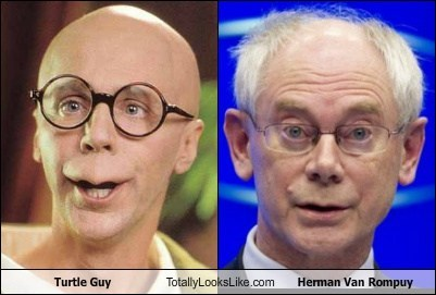 Dana Carvey (Turtle Guy) Totally Looks Like Herman Van Rompuy