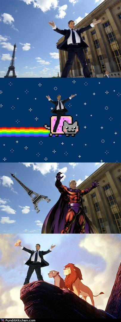 france,Memes,Nicolas Sarkozy,Nyan Cat,political pictures,xmen