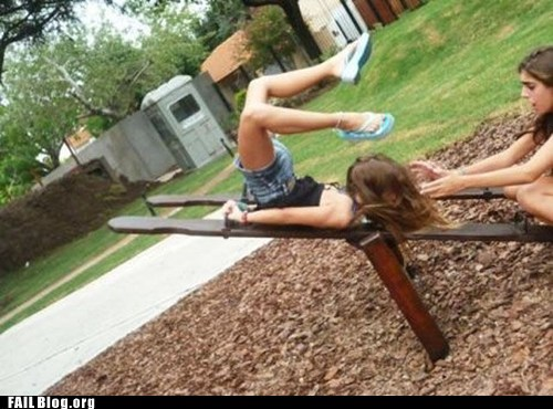 Teeter Totter FAIL