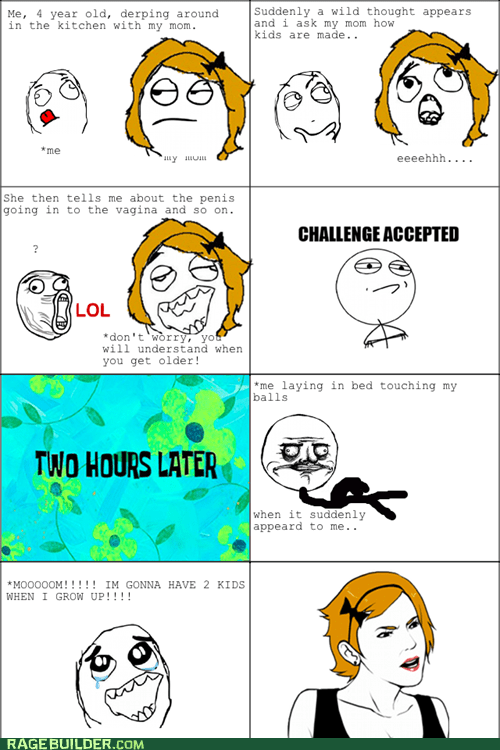 Rage Comics: Maybe Three!