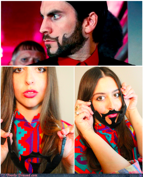 beard,facial hair,hunger games,ironic,necklace